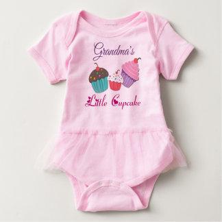 Grandma's Little Cupcake Baby Tutu Bodysuit