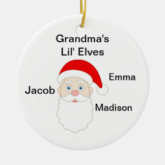 Grandmas Little Elves Christmas Ornaments