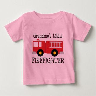 Grandmas LIttle Firefighter Baby T-Shirt