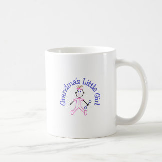 Grandmas Little Girl Coffee Mug