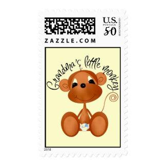 Grandma's Little Monkey Stamp