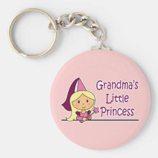 Grandma's Little Princess Keychain