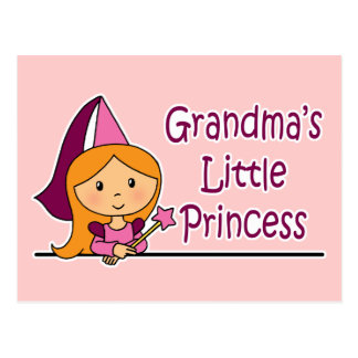 Grandma's Little Princess Postcard