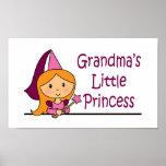 Grandma's Little Princess Print