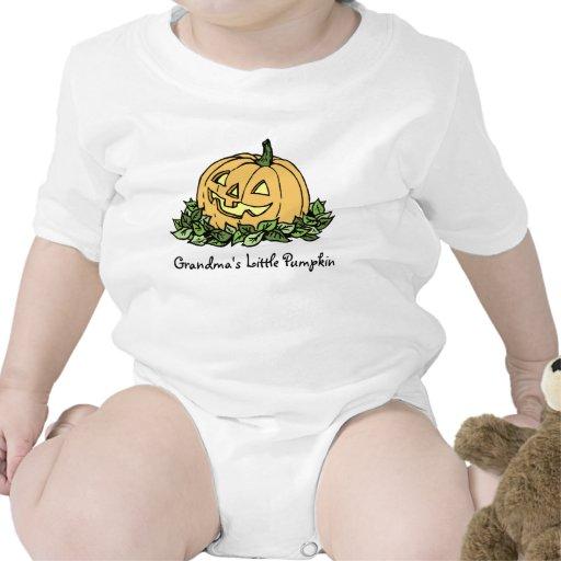 Grandma's Little Pumpkin Halloween Baby Creeper