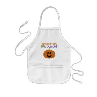 Grandma's Little Pumpkin Kids' Apron