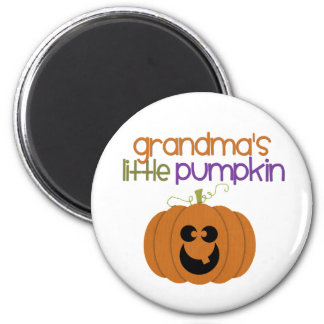 Grandma's Little Pumpkin Magnet