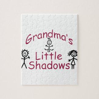 Grandma's Little Shadows Jigsaw Puzzles