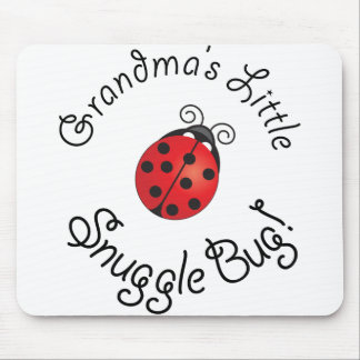 Grandma's Little Snuggle Bug! Mouse Pad