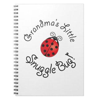 Grandma's Little Snuggle Bug! Notebooks