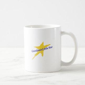Grandmas Little Star Classic White Coffee Mug