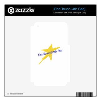 Grandmas Little Star iPod Touch 4G Decal