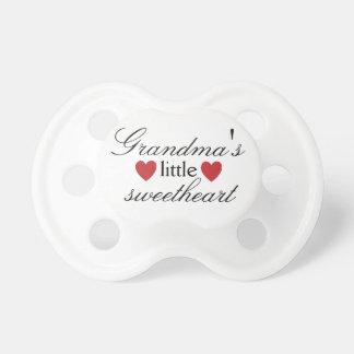 Grandma's Little Sweetheart Custom Pacifier BooginHead Pacifier