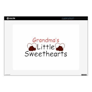 Grandma's Little Sweethearts Laptop Decal