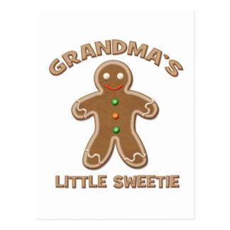 Grandma's Little Sweetie Postcard
