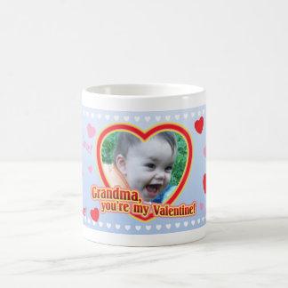 Grandma's Little Valentine! Classic White Coffee Mug