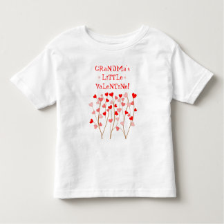 Grandmas Little Valentine Toddler T-shirt
