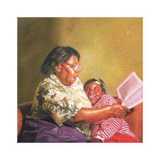 Grandma's Love 1995 Canvas Print