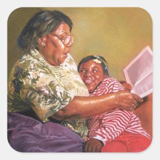 Grandma's Love 1995 Square Sticker