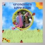 Grandma's Love Bugs Poster