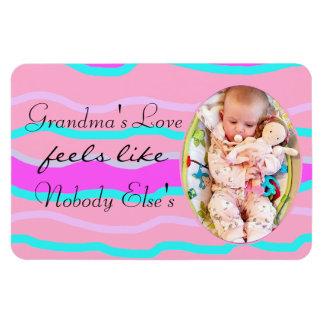 Grandma's Love Personalized Magnet