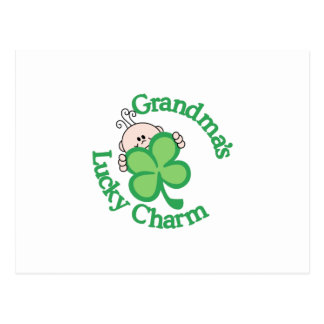 Grandma's Lucky Charm Postcard