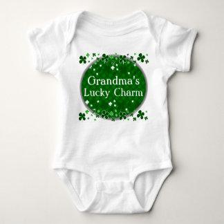 Grandma's Lucky Charm, St. Patrick's Day Baby Baby Bodysuit