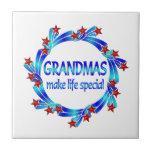 Grandmas Make Life Special Ceramic Tiles