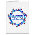 Grandmas Make Life Special Greeting Card