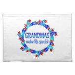 Grandmas Make Life Special Place Mat