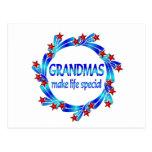 Grandmas Make Life Special Postcard