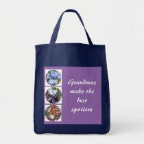 Grandmas Make the Best Spoilers Photo Template Tote Bag