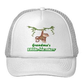 Grandma's Monkey Trucker Hat