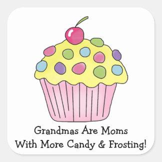 Grandmas More Frosting (customizable) Square Sticker