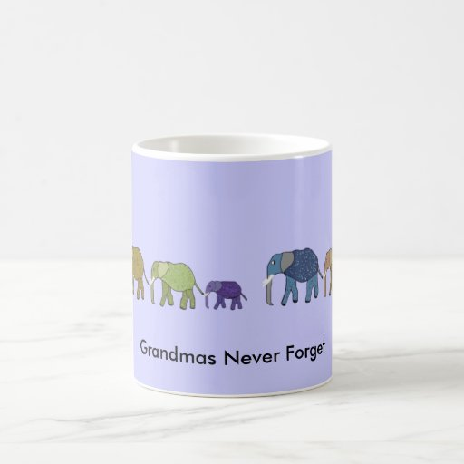 Grandmas Never Forget Mug