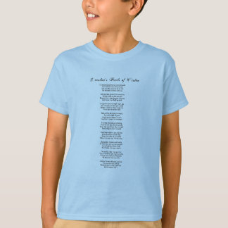 Grandma's Pearls of Wisdom - Grandson T-Shirt