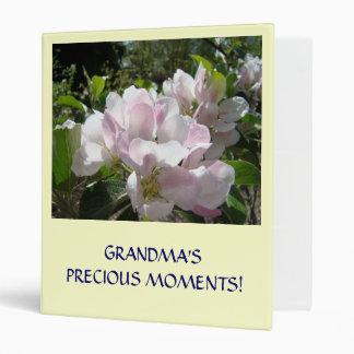 GRANDMA'S PRECIOUS MOMENTS! Binder Apple Blossoms