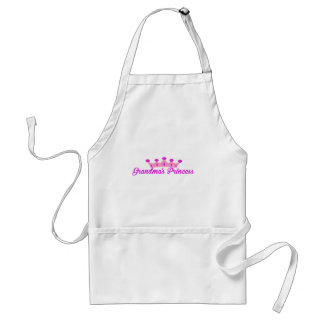 Grandma's Princess Adult Apron
