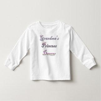 Grandma's Princess Dancer Shirt