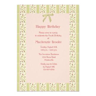 "Grandma's Quilt Invitation 5"" X 7"" Invitation Card"