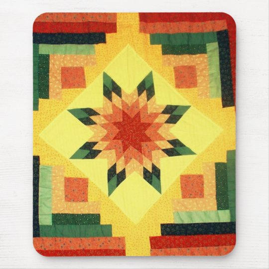Grandma's Quilt Mouse Pad