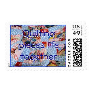 Grandma's Quilt Stamp-customize