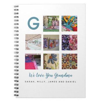 Grandmas Quilting Journal ADD Own Photos and Text
