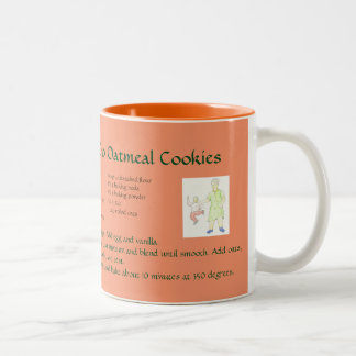 Grandma's Raisin Oatmeal Cookie Mug