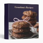 Grandma's Recipes 3 Ring Binder