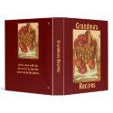 Grandma's Recipes - Binder binder
