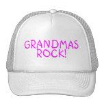 Grandmas Rock Pink Trucker Hat
