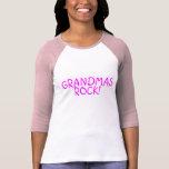 Grandmas Rock Pink Tshirt