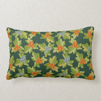 Grandma's Roses Meet Funky Folk Art Pillow