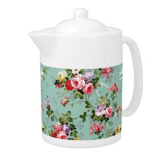 Grandma's Roses Teapot